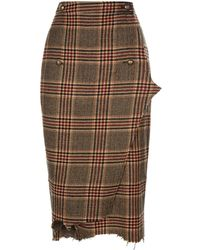 Vetements - Wool Wrap Skirt - Lyst
