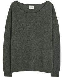 Le Kasha - Capri Moss Green Cashmere Jumper - Size S - Lyst