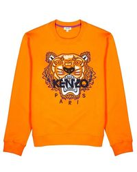 KENZO - Tiger Logo Sweatshirt - Lyst
