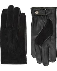 Dents - Newmarket Suede And Leather Gloves - Lyst