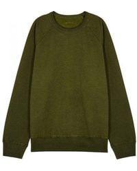 Our Legacy - Green Reversible Jersey Sweatshirt - Lyst