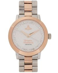 Vivienne Westwood - Bloomsbury Silver And Rose Gold Tone Watch - Lyst