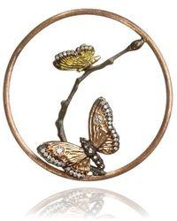 Annoushka Hoopla Butterfly Pendant