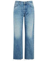 Replay - Whitson Blue Boyfriend Jeans - Lyst