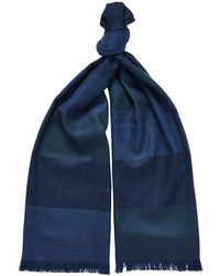 Chester Barrie - Lambswool Spot Scarf - Lyst