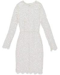 Fréolic London - Grace Ivory Mid Dress - Lyst
