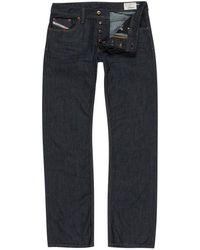 DIESEL - Larkee 008z8 Indigo Straight-leg Jeans - Lyst