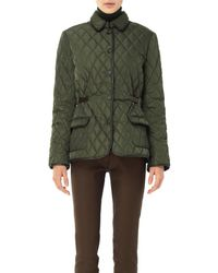 Max Studio - Quilted And Padded Jacket - Lyst