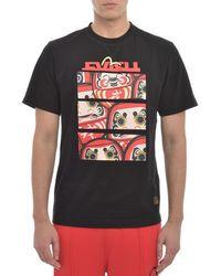 Evisu - Faulting Daruma T Shirt - Lyst