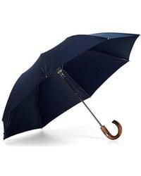 Aspinal of London - The Mens Compact Umbrella - Lyst