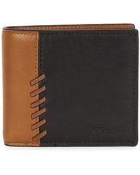 COACH - Brown Leather Wallet - Lyst