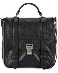 Proenza Schouler - Ps1+ Black Leather Backpack - Lyst