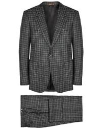 Cifonelli - Checked Wool-blend Suit - Lyst
