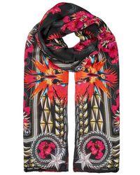 Givenchy | Iris Floral-print Silk Chiffon Scarf | Lyst