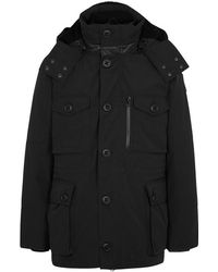 Canada Goose - Drummond Black Shell Parka - Lyst