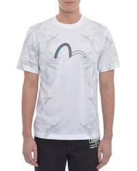 Evisu - Multi Bird Outline T Shirt - Lyst