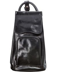 Maxwell Scott Bags - Classic Black Italian Leather Backpack For Women - Lyst