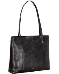 Maxwell Scott Bags - Black Leather Shopper - Lyst