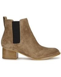Rag & Bone - Walker Camel Suede Chelsea Boots - Lyst