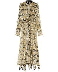Petar Petrov - Delhi Python-print Silk Dress - Lyst