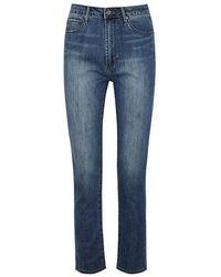 Articles of Society - Rene Blue Slim-leg Jeans - Lyst