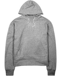 John Elliott - Kake Grey French Terry Sweatshirt - Size M - Lyst