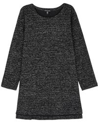 Eileen Fisher - Black Organic Cotton Blend Tunic - Lyst