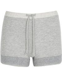 Free People - On A High Shortie Grey Shorts - Lyst