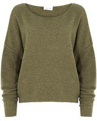 American Vintage - Damsville Bouclé-knit Jumper - Lyst
