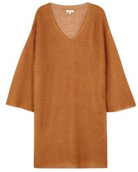 DEMYLEE   Peyton Open-knit Linen Jumper   Lyst