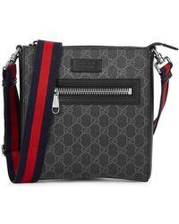 Gucci - GG Supreme Monogrammed Cross-body Bag - Lyst
