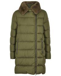 Colmar - Army Green Fur-trimmed Shell Jacket - Lyst