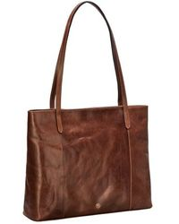 Maxwell Scott Bags - Tan Large Leather Shopper - Lyst