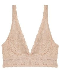 Wacoal - Almond Lace Soft-cup Bra - Lyst