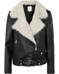 La Bête   Classic Black Leather Jacket   Lyst