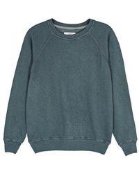 Étoile Isabel Marant - Fang Blue Jersey Sweatshirt - Lyst
