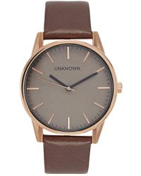 Unknown - The Classic Rose Gold Tone Watch - Lyst