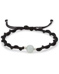 Black Dakini - Black Braided Bracelet - Lyst