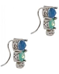 Jenny Packham - Stone Accented Ear Crawler Earrings - Lyst