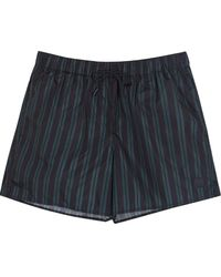 Acne Studios - Perry Striped Swim Shorts - Lyst