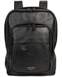 Common Projects - Black Leather Backpack - Lyst