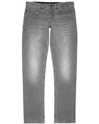 CALVIN KLEIN 205W39NYC - Deacon Grey Straight-leg Jeans - Size W34/l32 - Lyst