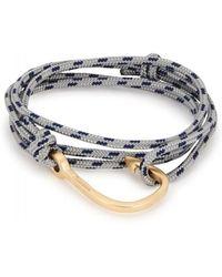 Miansai - Grey Hook Wrap Bracelet - Lyst