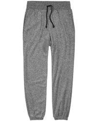 John Elliott - Grey Cotton Blend Jogging Trousers - Size M - Lyst