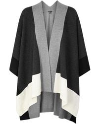 Eileen Fisher - Recycled Cashmere-blend Poncho - Lyst