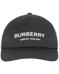 e5b0ee8e7c1 Burberry - Logo Print Baseball Cap - Lyst