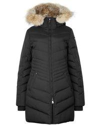 Pajar | Brooklyn Black Fur-trimmed Parka | Lyst