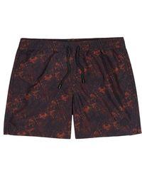 J.Lindeberg - Printed Swim Shorts - Lyst