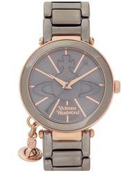 Vivienne Westwood   Kensington Gunmetal Watch   Lyst