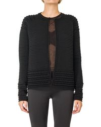 Max Studio - Textural High Twist Sweater Jacket - Lyst